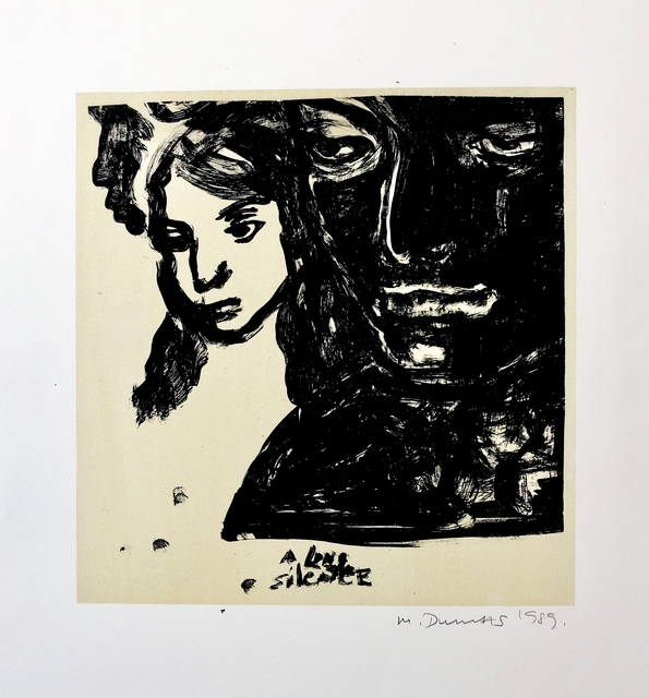 Marlene Dumas, 'A long silence', 1989, Dyman Gallery