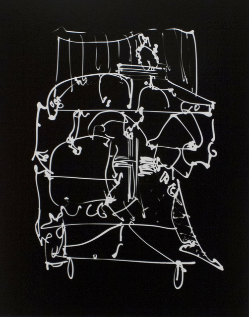 , 'Untitled (Drawing on Glass),' , Bruce Silverstein Gallery