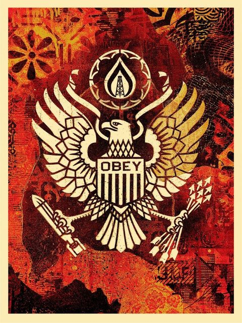 "Shepard Fairey, '""Keep It Underground""', 2015, New Union Gallery"