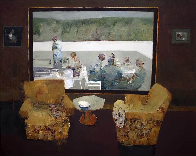 , 'Window Seat,' 2018, Sue Greenwood Fine Art