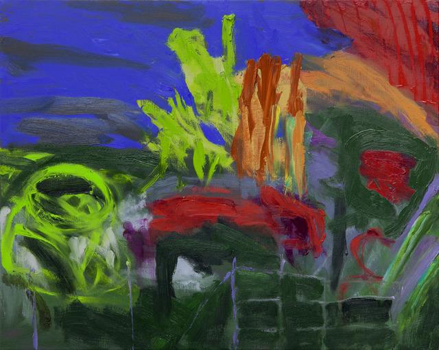 , 'October,' 2015, Flowers