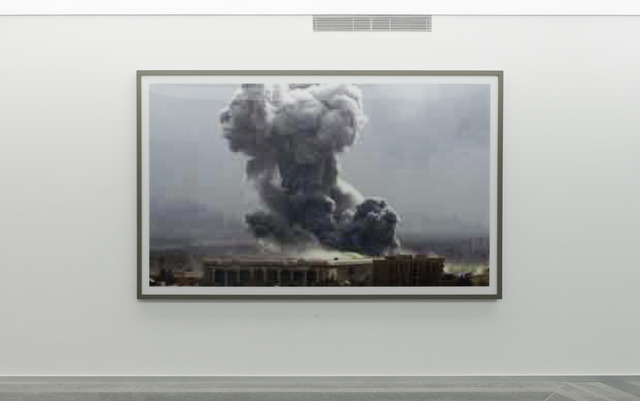 , 'Jpeg bb01. Bahdad Bombing,' 2004, PinchukArtCentre