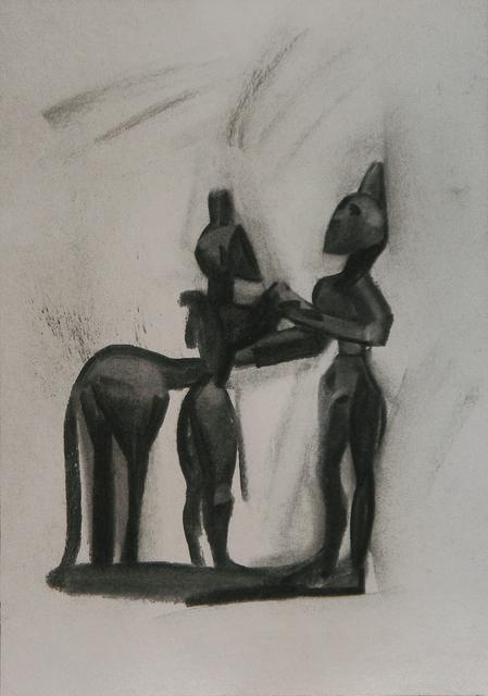 , 'Zeus y Titán,' 2016, Rafael Ortiz