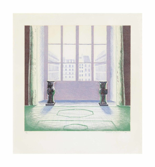 David Hockney, 'Two Vases in the Louvre', 1974, Christie's