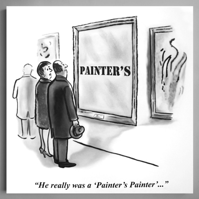 Charles Lutz, 'Painter's Painter', ca. 2017, Painting, Oil on Canvas, Hilton Asmus