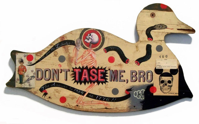 , 'Don't Tase Me  ,' 2012, Jonathan LeVine Projects