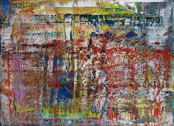 , 'Abstraktes Bild,' 2014, SmithDavidson Gallery