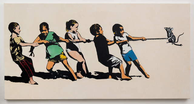 , 'Rope Pulling,' 2013, Jonathan LeVine Projects