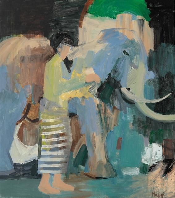 , 'Le voyage de l'éléphant,' 2016, Art On 56th