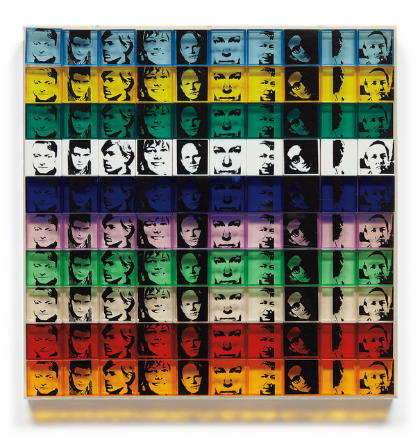Andy Warhol, 'Portrait of the Artists, from Ten from Leo Castelli', 1967, Phillips