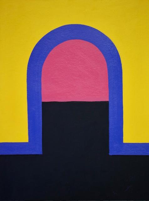 , 'Bogen Set/Violett,' 2018-2019, Galerie Britta von Rettberg
