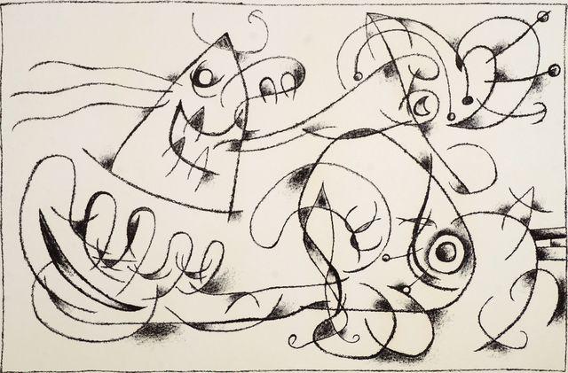 Joan Miró, 'Le Sommeil du Père Ubu I from Suites pour Ubu Roi, 1966 [Mourlot 425/Cramer 108]', 1966, Roseberys