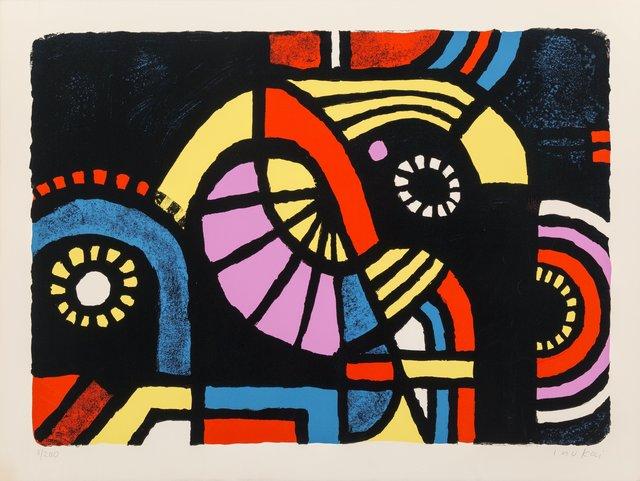 Kyohei Inukai (1913-1985), 'Coney Island', 1979, Heritage Auctions