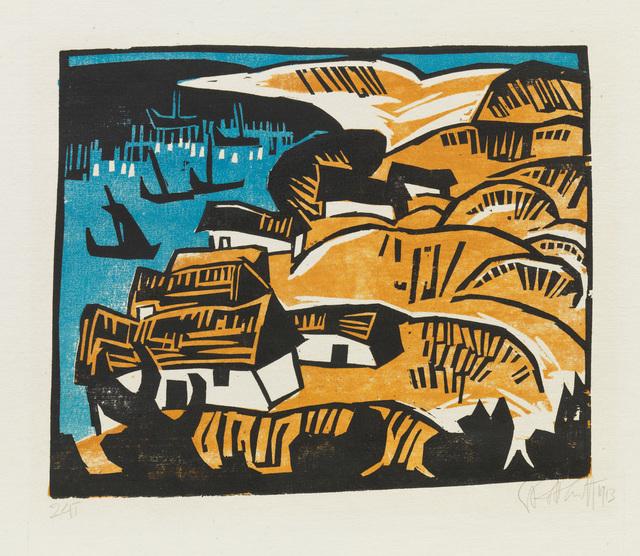 , 'DIE BUCHT,' 1913, Jörg Maass Kunsthandel
