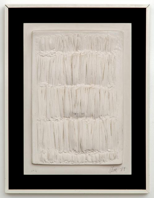 , 'Petite plaque No. 1,' 1989, Demisch Danant