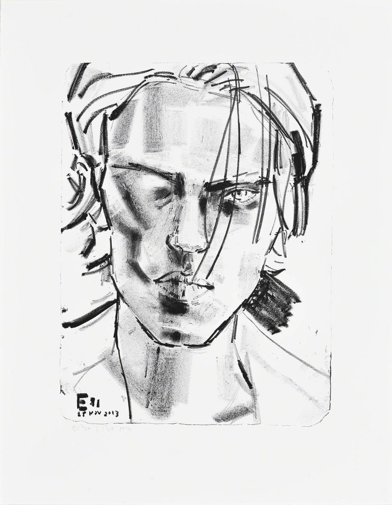 Elizabeth Peyton, 'Elias, November 2013,' 2014, Edition Copenhagen
