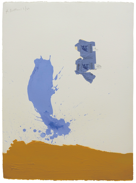 , 'In Blue Ochre with Gauloises,' 1967, Hollis Taggart Galleries