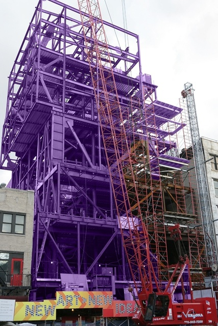 , 'New Museum in Purple,' 2006, IAZ Art Gallery