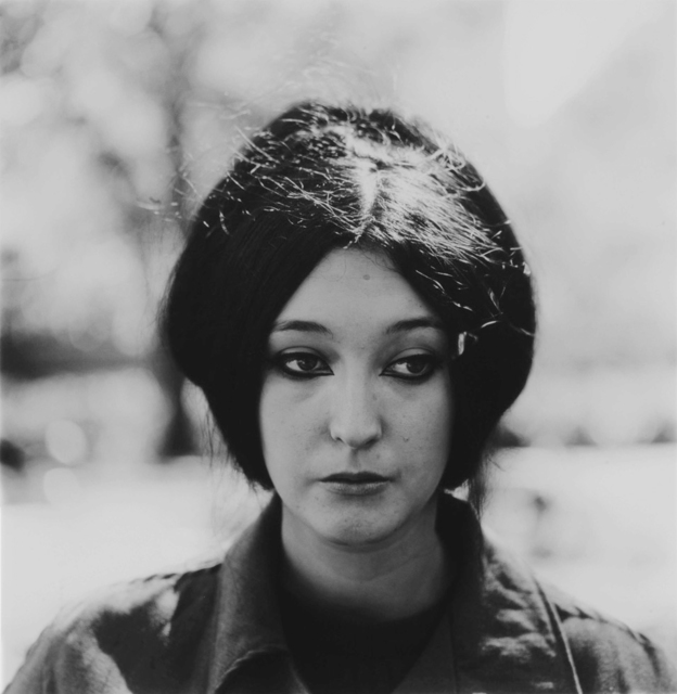 , 'Woman with eyeliner, NYC,' 1967, ClampArt