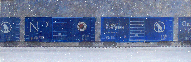 , 'Great Northern and Northern Pacific,' 2017, LAUNCH LA