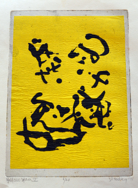 , 'Yellow Space IV,' 1971, Erin Cluley Gallery