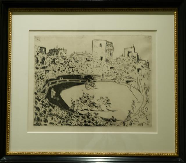 , 'Corrida en Arles,' 1951, John Szoke