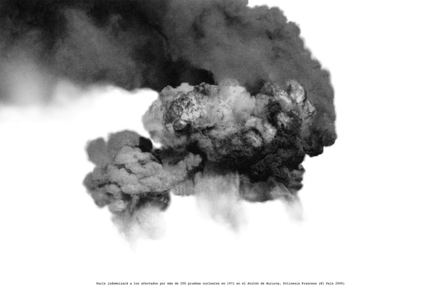 , 'Humo en Polinesia,' 2009-2017, Del Infinito