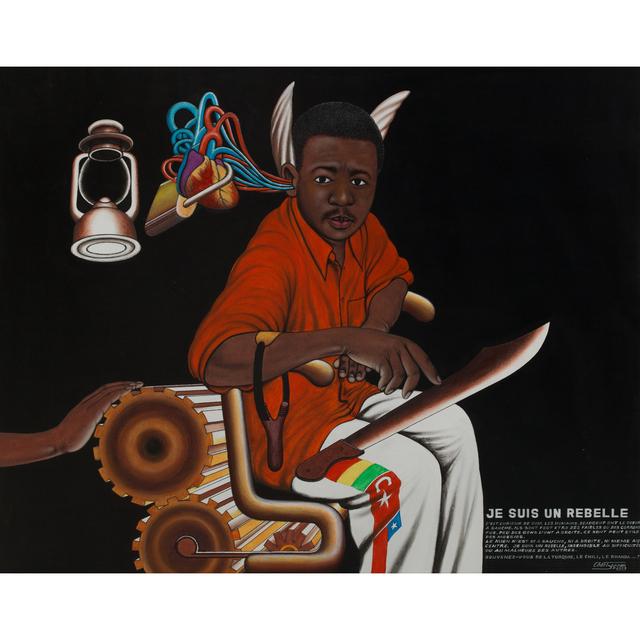 Chéri Samba, 'Je suis un rebelle', 2003, PIASA