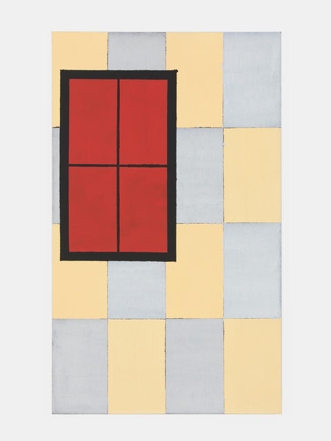 , 'Red Window,' 2019, Fisher Parrish Gallery