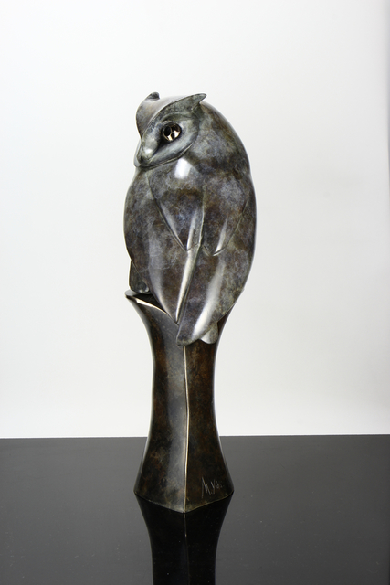 , 'Scops Owl,' , Urbane Art Gallery