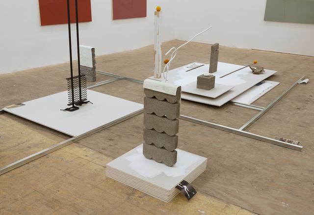 , 'Lo real es aquello a lo que no hay que ceder,' 2017, Johannes Vogt Gallery