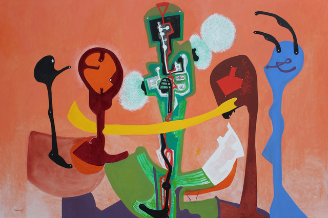 Eduardo Arranz-Bravo, 'Rumba', 2020, Painting, Oil on canvas, Matthew Liu Fine Arts