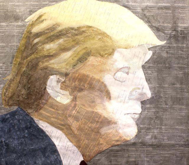 , 'Trump,' 2015, Paraphé