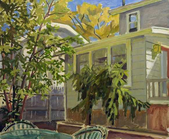 , 'October Back Yard  ,' 2016, Blue Mountain Gallery
