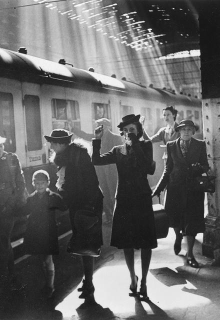 Bert Hardy, 'Wartime Terminus, Paddington Station (Women Waving)', 1942 (printed later), Peter Fetterman Gallery