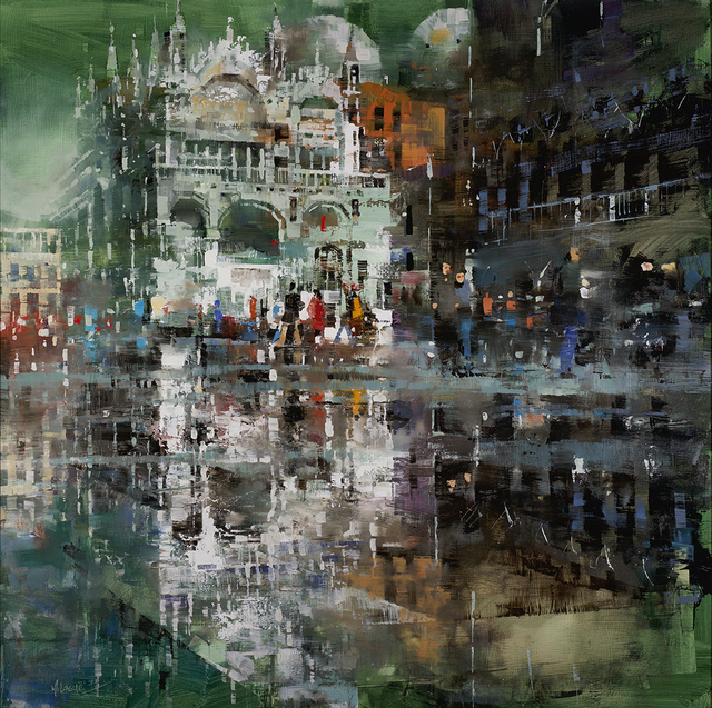, 'St. Mark's Reflections,' 2018, Rehs Contemporary Galleries