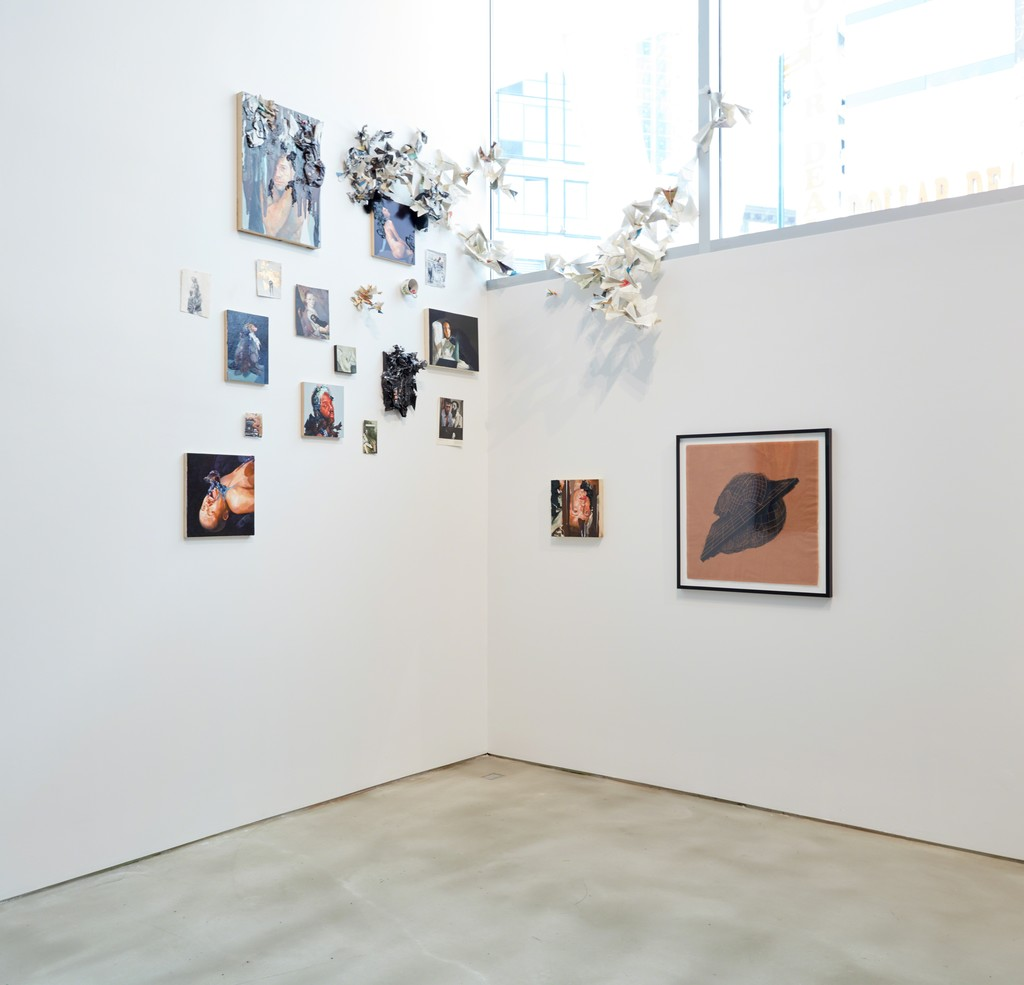 """Look up here, I'm in heaven"" Exhibition, photo: Jason Wyche"