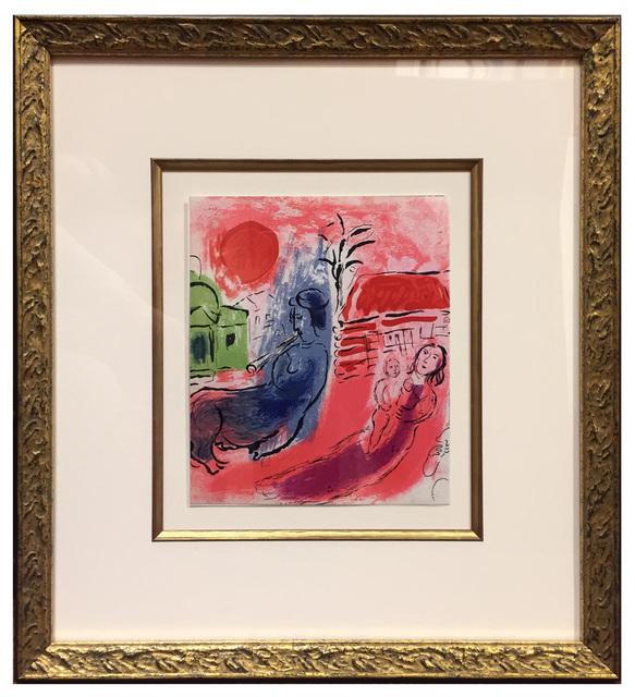 Marc Chagall, 'Maternité au Centaur', 1957, Print, Original Lithograph, Elliott Gallery