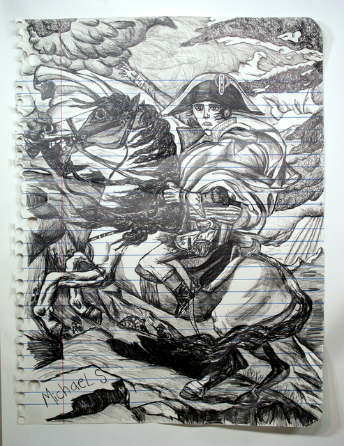 , 'Napoleon Crossing The Alps (hires),' , g.gallery