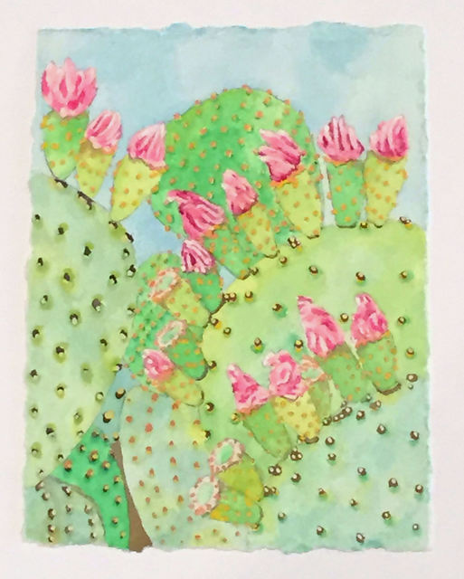 , 'Prickly Pear Study,' 2015, Ro2 Art