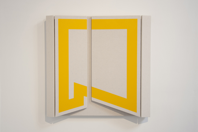, 'Untitled Yellow Shift ,' 2018, Wilding Cran Gallery