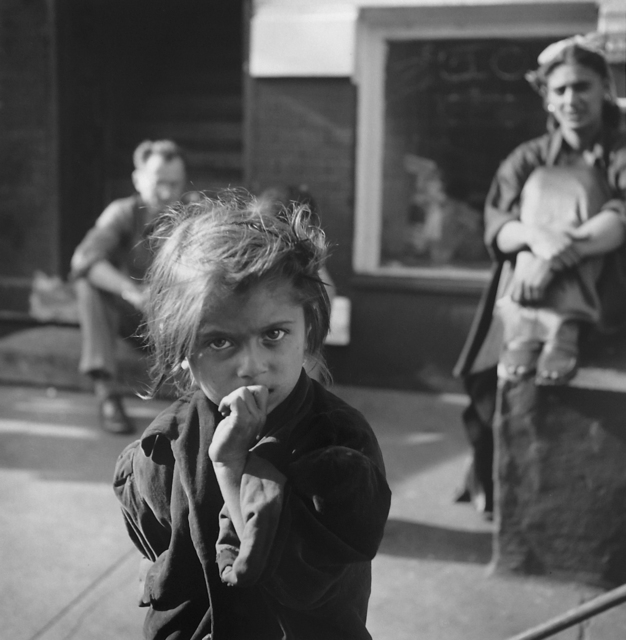 , 'Gypsy Girl with Nelson Algren in background, Chicago, 1949,' , Monroe Gallery of Photography