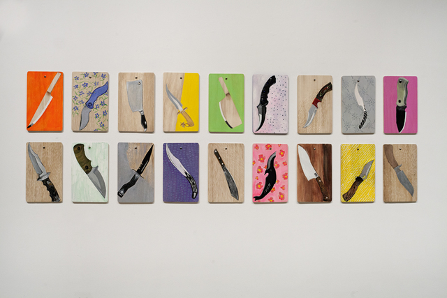 , 'What Knife You Are,' 2014, Sundaram Tagore Gallery