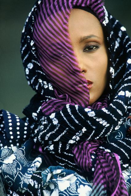 , 'Iman,' 1983, CAMERA WORK