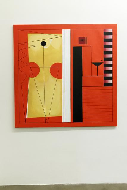 , 'Orange Anormal Modulor,' 2016, Agustina Ferreyra