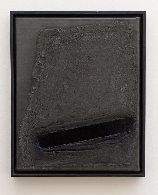 Erwin Bechtold, 'Notierung 15 grau dunkel', 2002, Galerie Gisela Clement