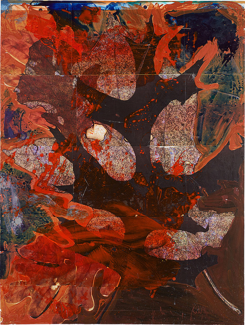 Josh Smith, 'Untitled', 2010, Painting, Oil, acrylic and printed paper laid on panel, Blond Contemporary