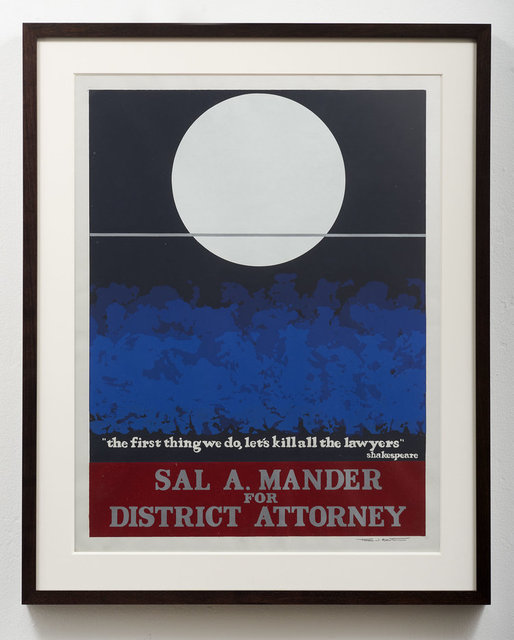 Thomas W. Benton, 'Sal A. Mander ', 1980, Gonzo Gallery
