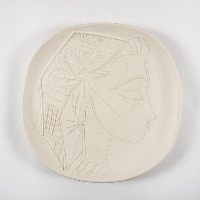 Pablo Picasso, 'Profil de Jacqueline', 1956, HELENE BAILLY GALLERY