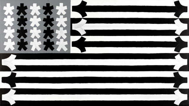 , 'Stars and Stripes,' 2015, Gastman